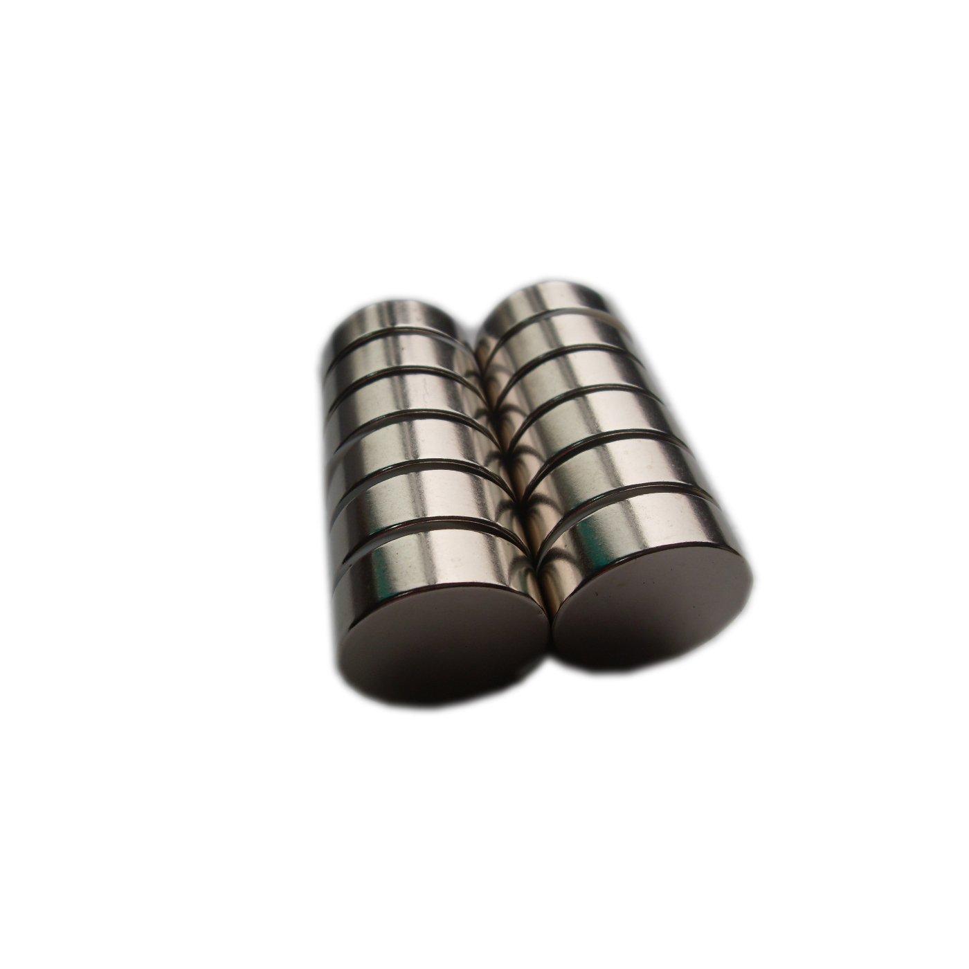 Magneti rari in neodimio N35, dischetti super resistenti 3x1mm, per modellini artigianali, confezione da 100 Big Bargain Store