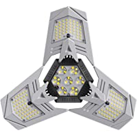 Cacagoo 100W Deformable LED Garage Light