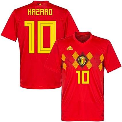 adidas Belgium Home Hazard Jersey 2018/2019 (Official Printing) - XXXL