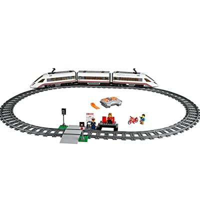 LEGO City High-speed Passenger Train 60051 Train Toy: Toys & Games