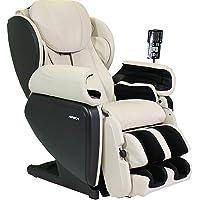 Apex APPROREGENTC Model AP-Pro Regent Ultra Advanced Massage Chair, Cream, 4DReal MassageTechnology, 9 Manual MassageTechniques, Memory MassagePrograms, Heat Blanket, Adjustable Foot Extension