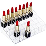 Lipstick Holder, HBlife 40 Spaces Clear Acrylic Lipstick Organiser Display Stand Cosmetic Makeup Organiser for Lipstick, Brushes, Bottles, and more