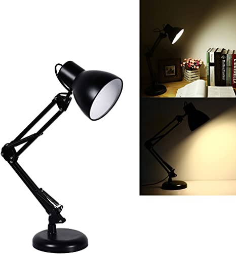 Led Desk Lamp S G Stylish Metal Table Lamps Office Light With Usb Charging Port Timer Night Light Black Amazon Com