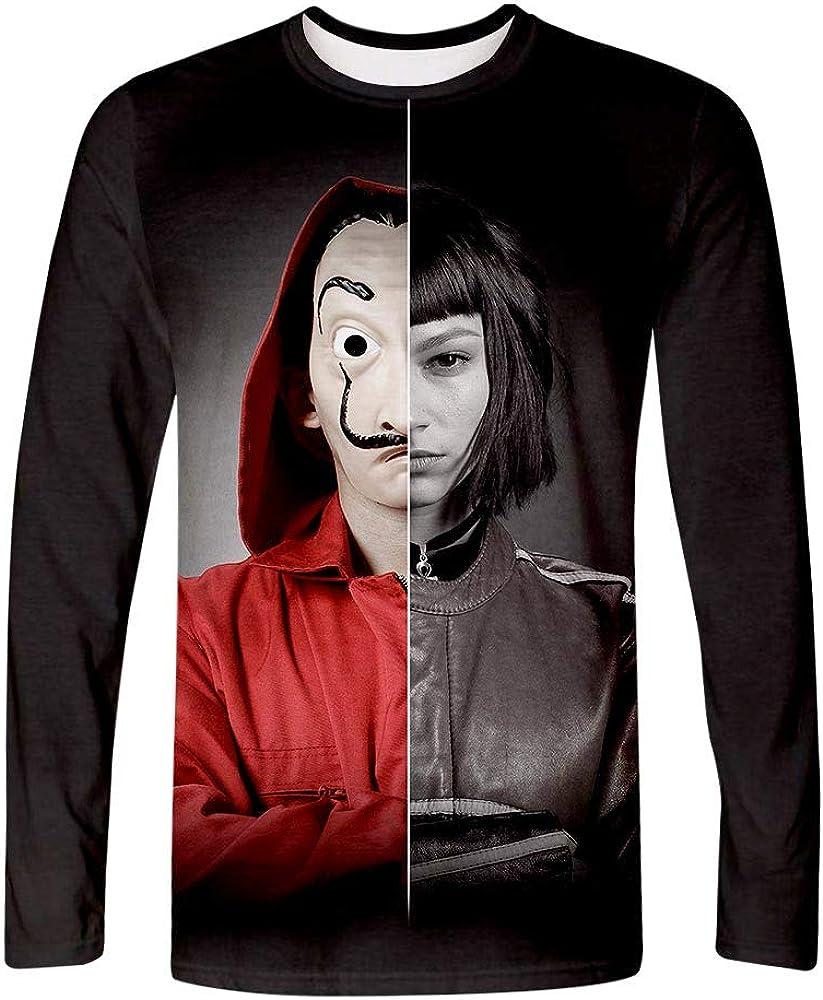 BESTcos Adult T-Shirt Hooded Sweatshirt Printed Costumes