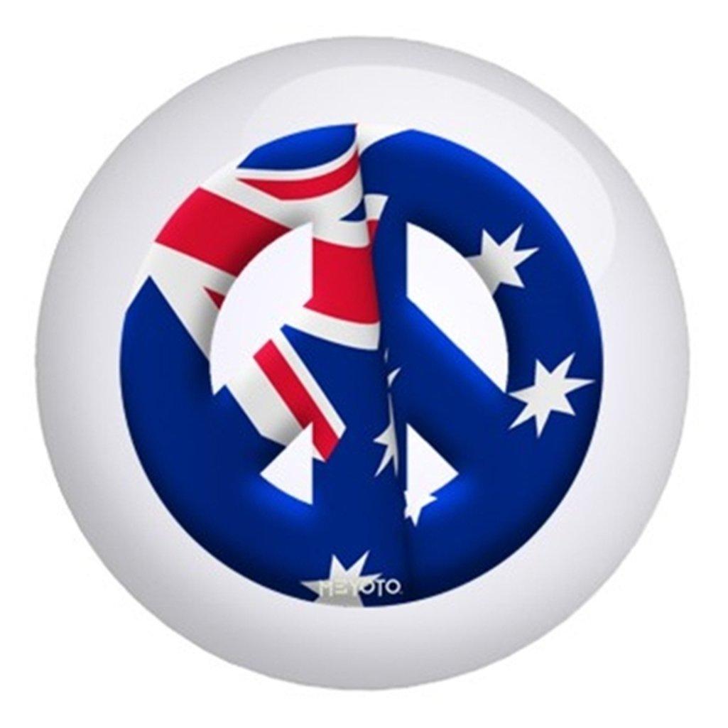 オーストラリアメヨト国旗ボーリングボール B003C26VSI  15lbs