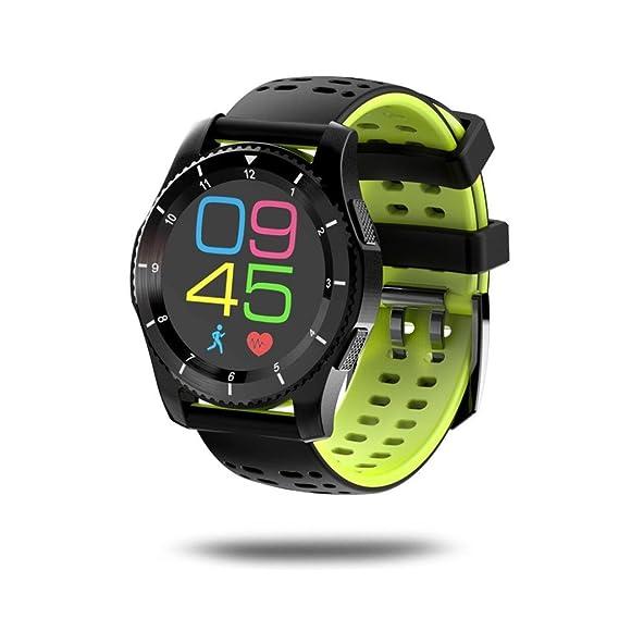 Pulsera Inteligente, Malloom GS8 Impermeable GPS Smart Watch presión Arterial Ritmo cardíaco Reloj para Android y iOS