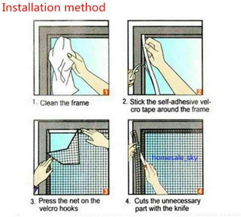 Magic Window Screen Net Mesh Door Curtain Net Mosquito Insect Screen