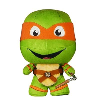 Funko Fabrikations: Teenage Mutant Ninja Turtles Michelangelo Action Figure: Funko Fabrikations:: Toys & Games