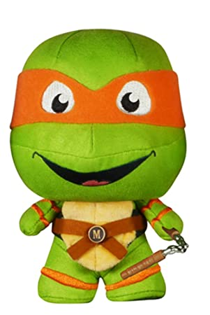 Funko Tortugas Ninja Peluche Fabrikations Michelangelo ...