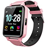 WILLOWWIND Kids Smart Watch for Boys Girls - Children's Smartwatch with 14 Games Music Mp3 Player 2 Way Phone Calls Alarms Ca