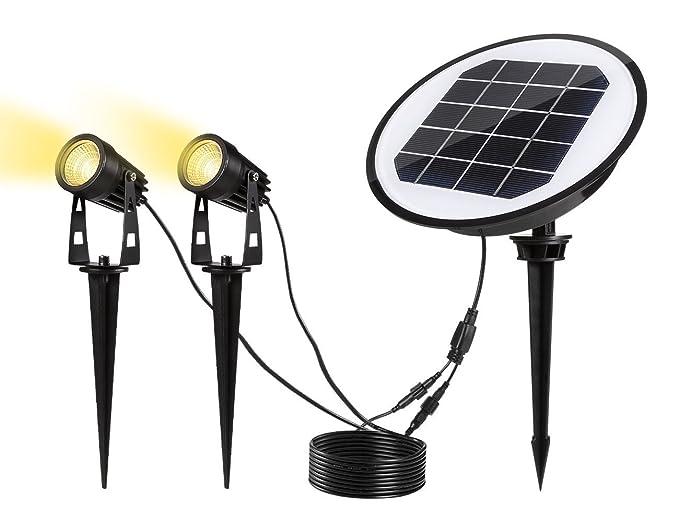 Illuminazione Esterna Energia Solare : Energia solare riflettori di sicurezza led solare faretto esterno