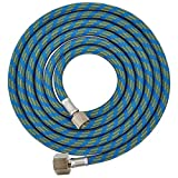 "6' BRAIDED AIRBRUSH HOSE 1/8""-1/4"" for Iwata Air"