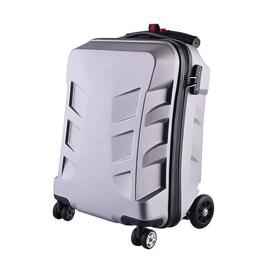 DGDD Luggage Scooter Maleta para Scooter de 20 para Viajes ...