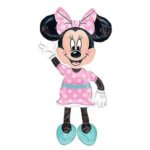 "Anagram International 54'' Minnie Mouse AWK, Multi, 54"""