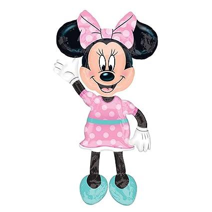 amscan 3433101 Micky Freunde Folienballon Minnie Maus