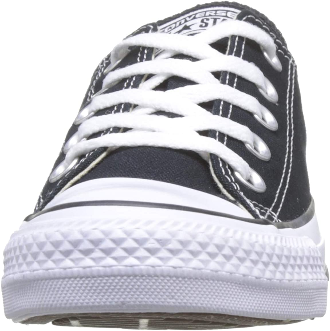 Converse Unisex Chuck Taylor All Star Ox Low Top Classic Black Sneakers M 4 D