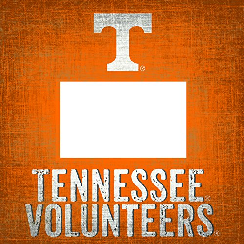 "NCAA Tennessee Volunteers ""Team Name"" 4 in. x 6 in. Wood Photo Frame"
