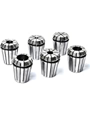 Atoplee 6pcs 1/2,1/4,3/4,1/8,3/8,5/8 inch ER32 Precision Spring Collets CNC Lathe Milling Chuck (all of sizes)