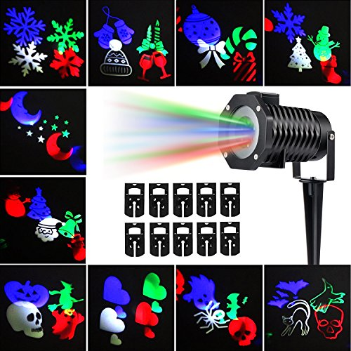 Outdoor Led Projector Christmas Lights - 7