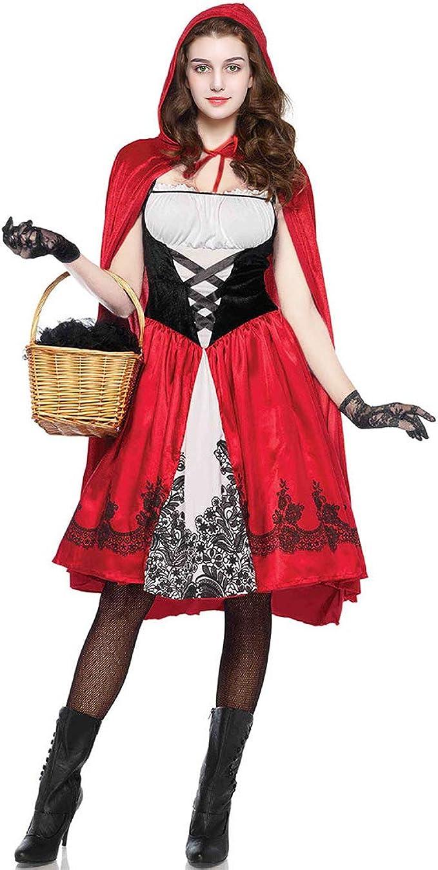 Amazon Com Women S Little Red Riding Hood Costume Cosplay