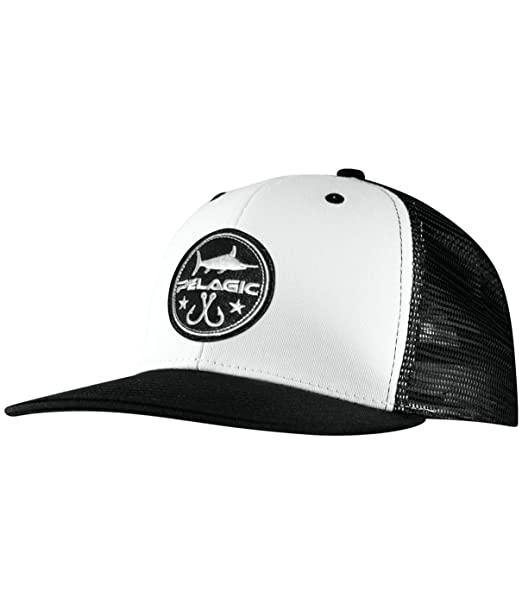12cf3f090cb Image Unavailable. Image not available for. Color  Pelagic Men s Icon  Snapback Fishing Hat