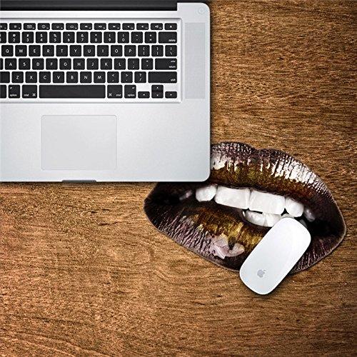 [Spedizione gratuita  ~–7–12giorni] Mouse decalcomanie Mat Adesivo PAG impermeabile, cinturino cursore scrivania di bocca Home Decor regalo BML®//Mouse Pad decalcomanie Mat Adesivo PAG Wat