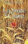 La faute de Claire par Bernier
