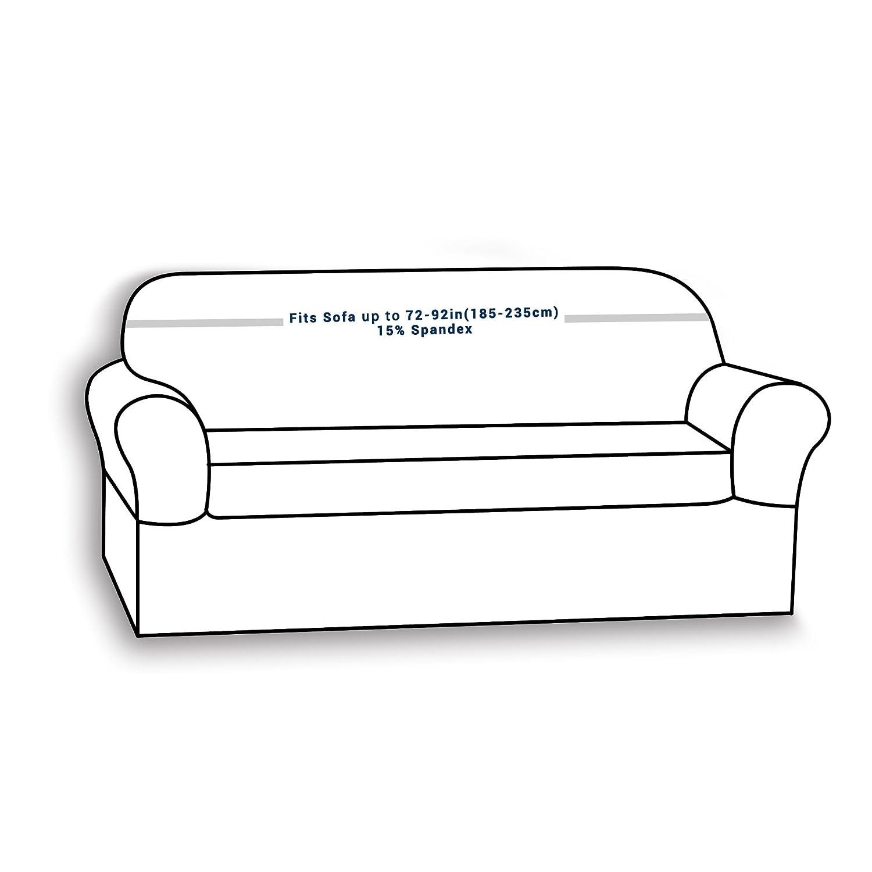Amazon Chunyi 2 Piece Jacquard Polyester Spandex Sofa