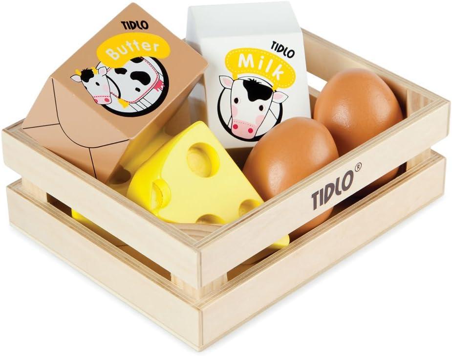 Tidlo Eier und Molkereiprodukte - Kinder Marktstand
