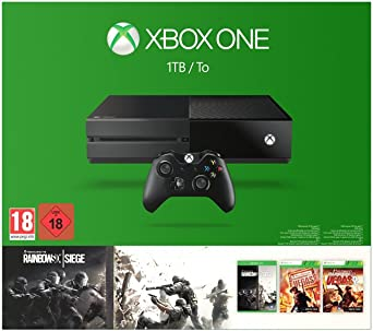 Xbox One - Consola 1 TB + Tom Clancys Rainbow Six: Siege: Amazon ...