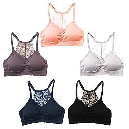 Women Adjustable Sports Bra Stretch Fitness Yoga Bra Seamless Underwear S-3XL