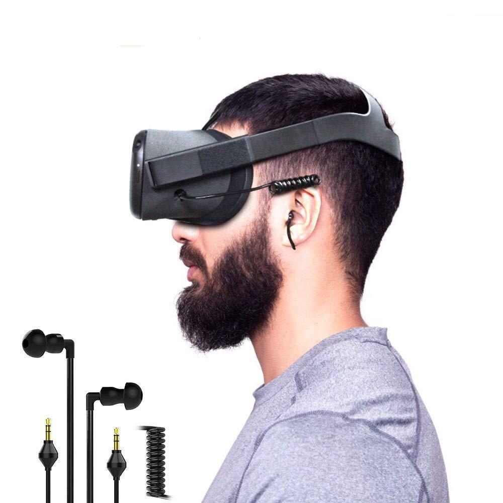 Headphone Earbuds Earphones Custom Made for Oculus Quest VR Headset