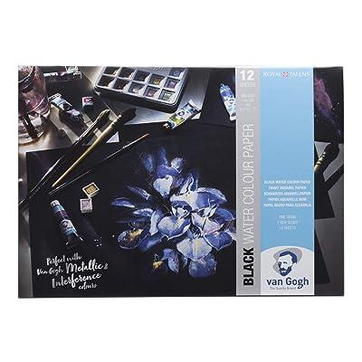 Royal Talens - Van Gogh - Negro Acuarela Papel - A3-12 Hojas - 360gsm: Juguetes y juegos