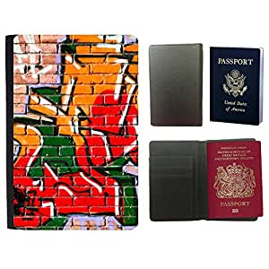 Passeport Voyage Couverture Protector // V00002340 Pintada // Universal passport leather cover