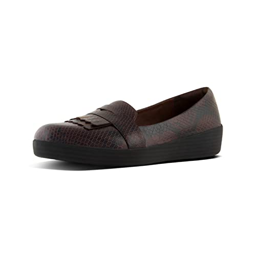 Fitflop Fringey TM Sneakerloafer Snake, Mocasines (Loafer) para Mujer: Amazon.es: Zapatos y complementos