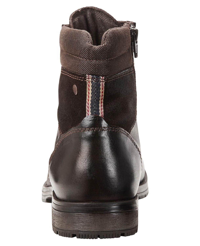 7064e0bc8008 ... JACK Leather   JONES Lederstiefel jfwZACHARY Leather JACK Herren  Schnürboot Boots Leder Stiefel Stiefeletten Combat Boots ...