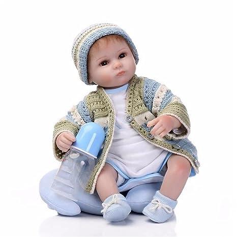 Amazon.es: Soft 42cm muñeco Reborn 100% hecho a mano realista Muñeco ...