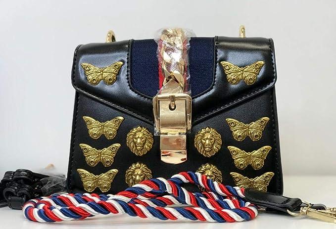 7207d05ca Bolsa Inspiração Gucci Animal Studs Mini Bag  Amazon.com.br  Amazon Moda