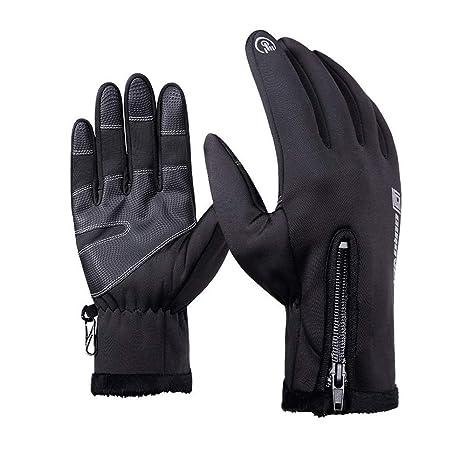 26a0d76d82 F.anlos Guanti da sci uomo, guanti da sci donna, Guanti Touch Screen,  Guanti da sci Unisex Inverno Caldo Impermeabile, per Sci, Snowboard, Moto,  Bici, ...