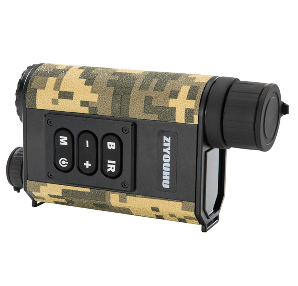 Military Rangefinder Golf Laser Ranging for Wild Hunting with Wiping Cloth and Carry Pouch Included,Green by Rayuwen