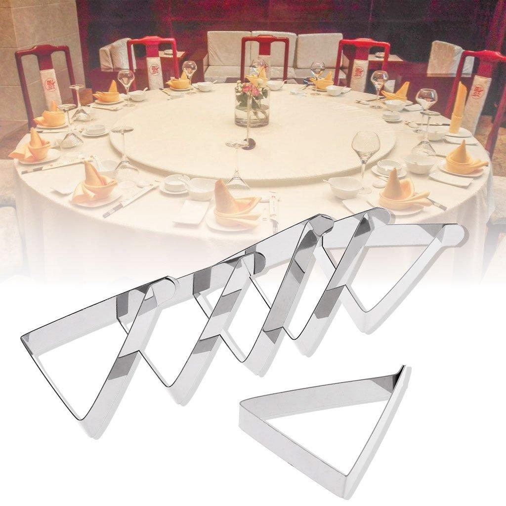 6 St/ück Manyo Tischklammern