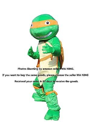 Nuevo las Tortugas Ninja adulto mascota disfraz material de EVA ...