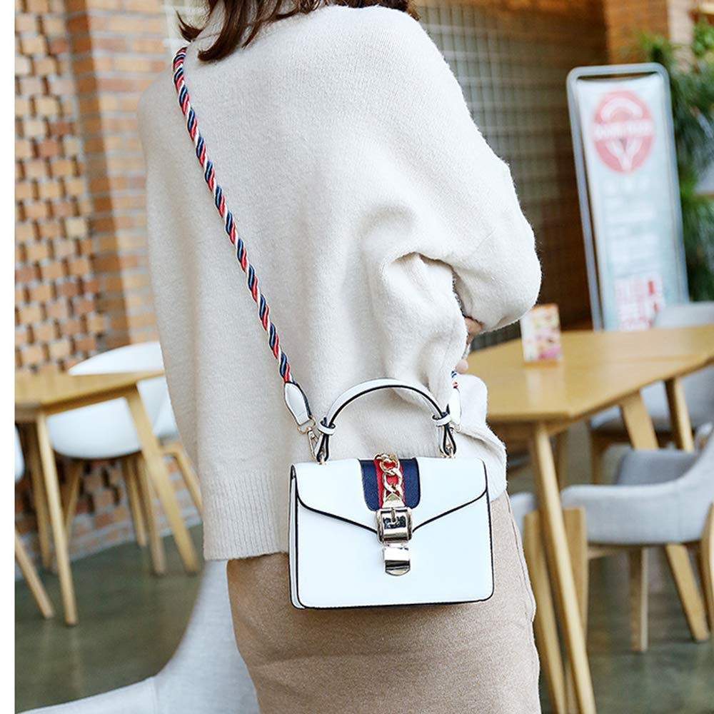 2019 Neue Welle Paket Kuriertasche Damen Weiblichen Beutel Handtaschen Für Frauen Handtasche Umhängetasche Handtaschen Henkeltasche,Pink White