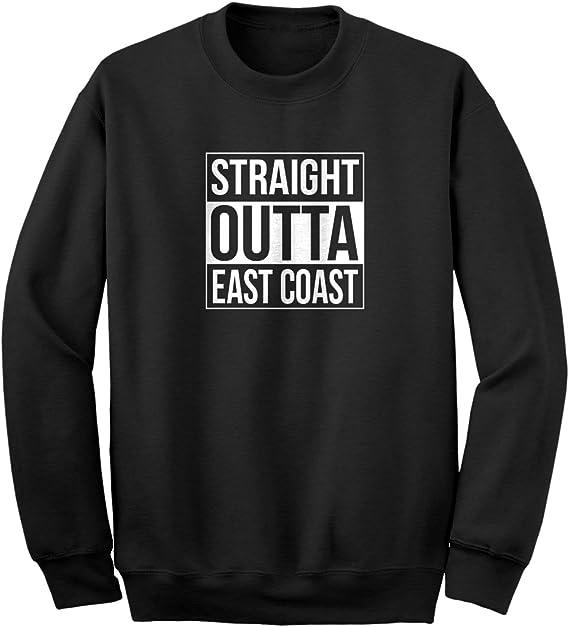 Straight Outta East Coast Unisex Adult Hoodie