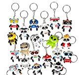 1.5'' COLLECTABLE PANDA KEYCHAIN, Case of 24
