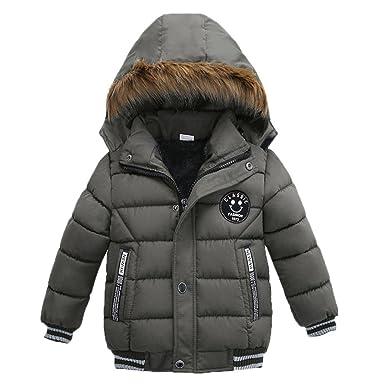 classic fit 0c0d5 91167 Longra Kinder Winter Jacke Daunenjacke Outdoor Steppjacken ...