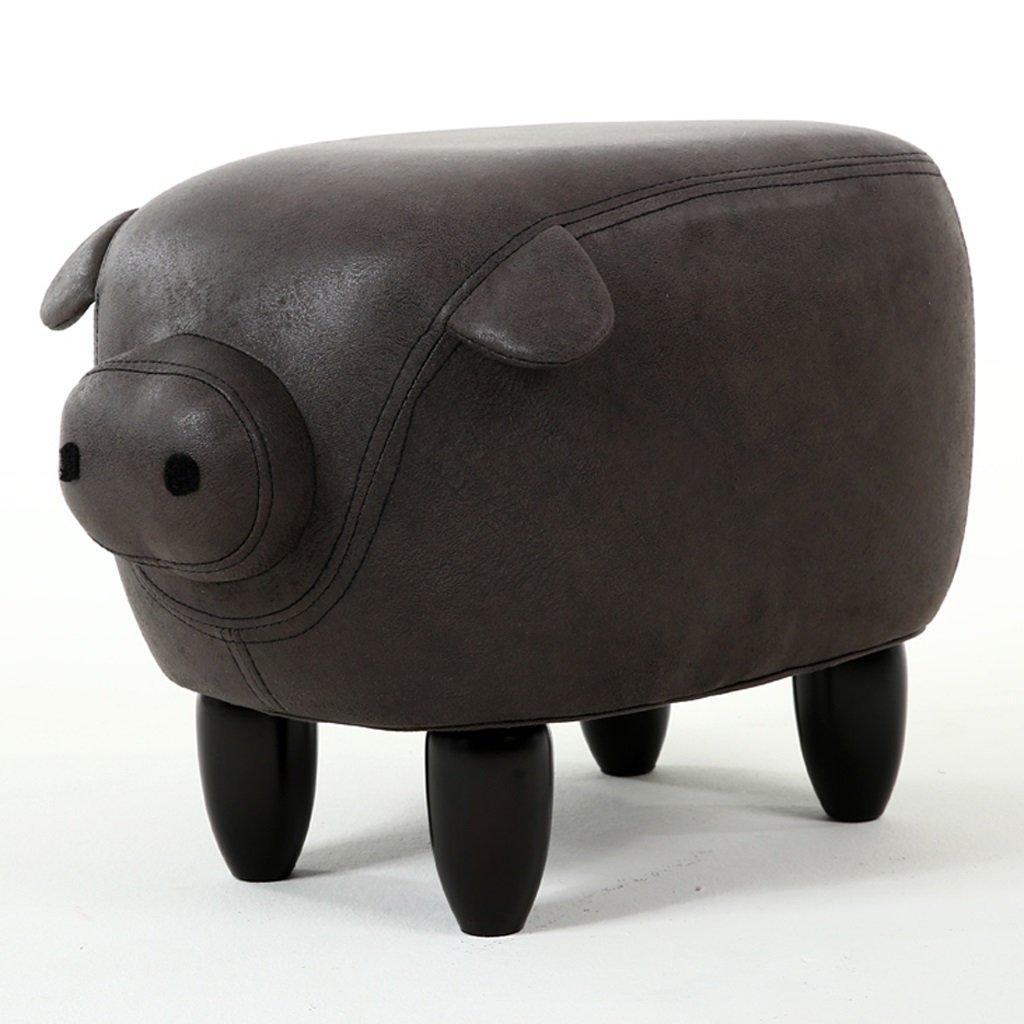 Tabouret de petit animal en cuir tabouret pour chaussures tabouret de chaussures essayer maison tabouret mignon