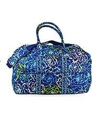 Vera Bradley Luggage Womens Grand Traveler Katalina Blues Duffel Bag