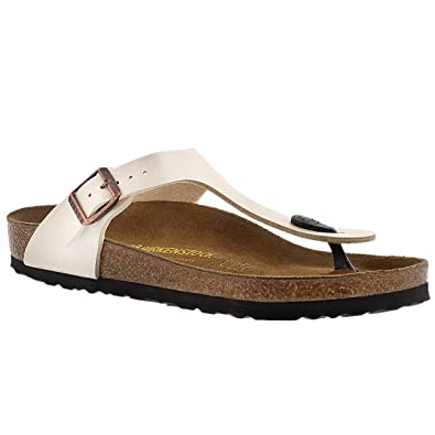 f6581f18859 BIRKENSTOCK Women s Gizeh 943871 Pearl Color (8)  Amazon.co.uk  Shoes   Bags