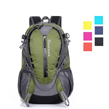 7cad24d0bafb Amazon.com   Daxvens Day Hiking Backpack with Chest Wasit Strap for ...